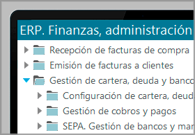Cartera-Tesorería-Facturas